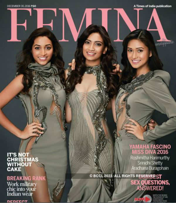 Yamaha Fascino Miss Diva 2016 winners slay on the cover of Femina