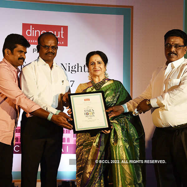 Times Food Guide Awards '17 - Chennai: Winners