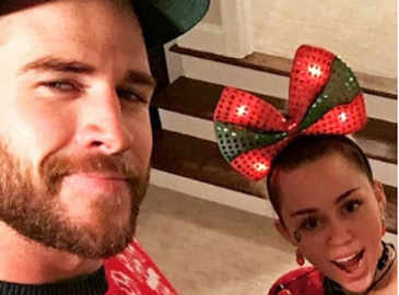 Liam Hemsworth joins Miley Cyrus' family for Christmas festivities