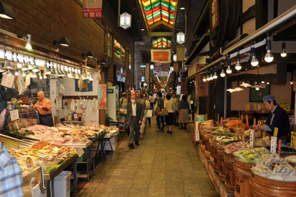 Nishiki Market Kyoto Times Of India Travel