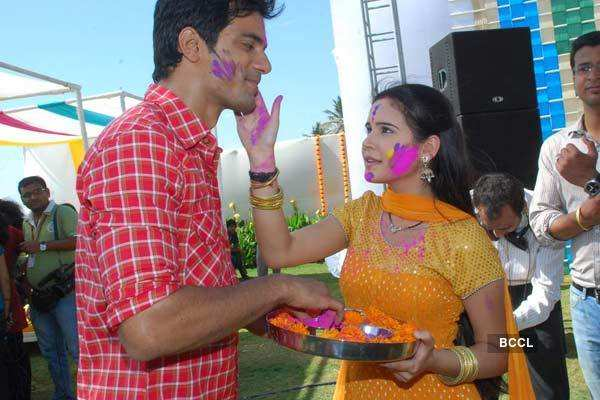 Star Plus Holi Party