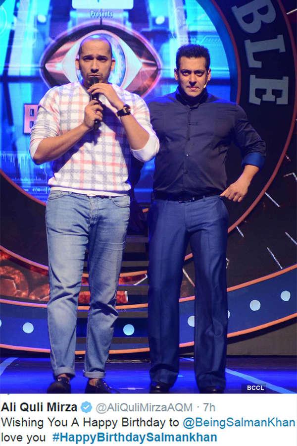 Celebs wish Salman Khan on his b'day