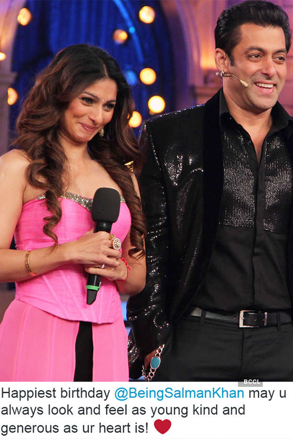 Celebs wish Salman Khan on his b'day