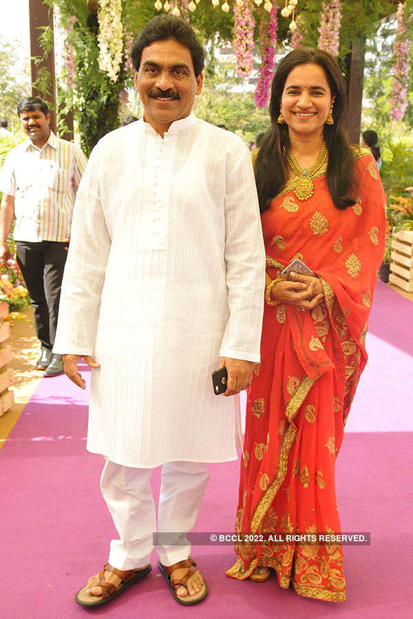 Adarsh & Harsha's wedding reception