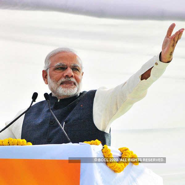PM Modi's rally in Dehradun