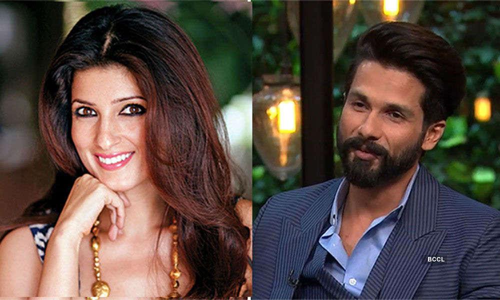Shahid Kapoor Admits Stalking Twinkle Khanna