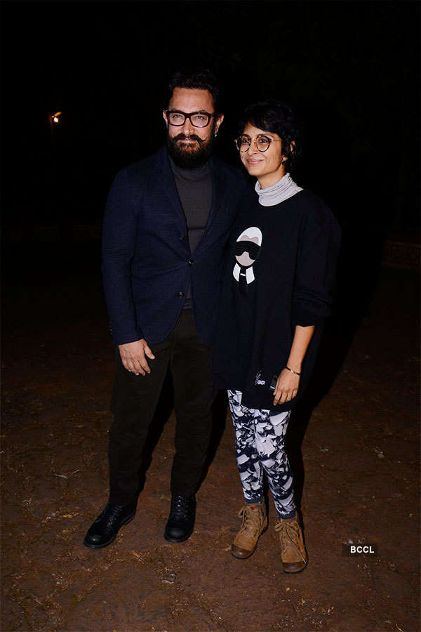 Aamir, Kiran celebrate wedding anniversary