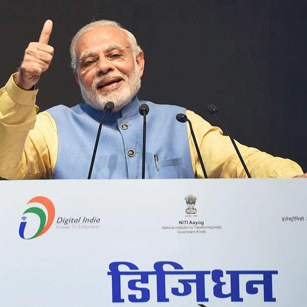PM Modi launches digital payments app BHIM
