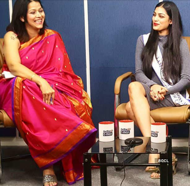 In Pics: Naveli Deshmukh on a popular talk show