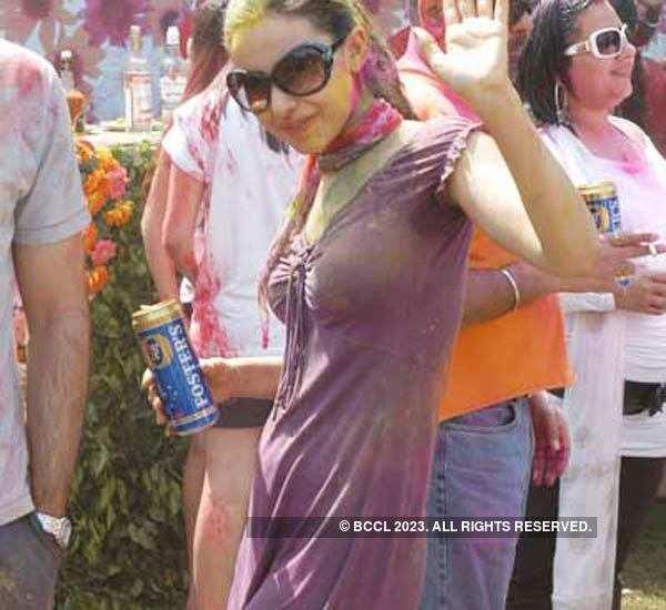 Vineet Jain Holi Party '08 - 1