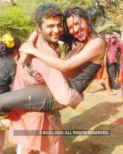 Vineet Jain's Holi Party '08 -16