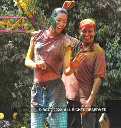 Vineet Jain's Holi Party '08 -6