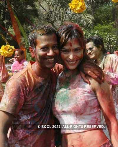 Vineet Jain Holi Party '08 - 2