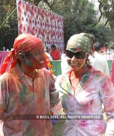 Vineet Jain Holi Party '08 - 3