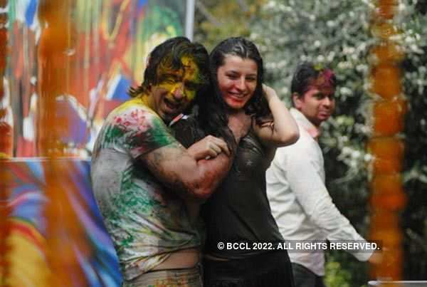 Vineet Jain's Holi Party '10 - 5