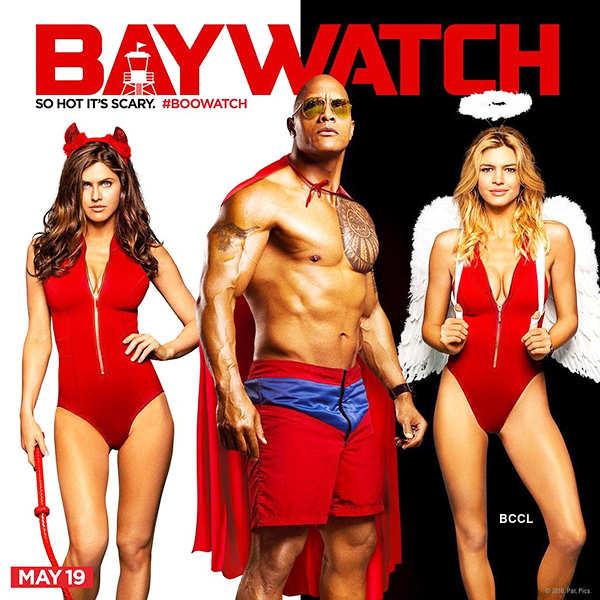 Priyanka Chopra stuns as Victoria Leeds in Baywatch's new poster!