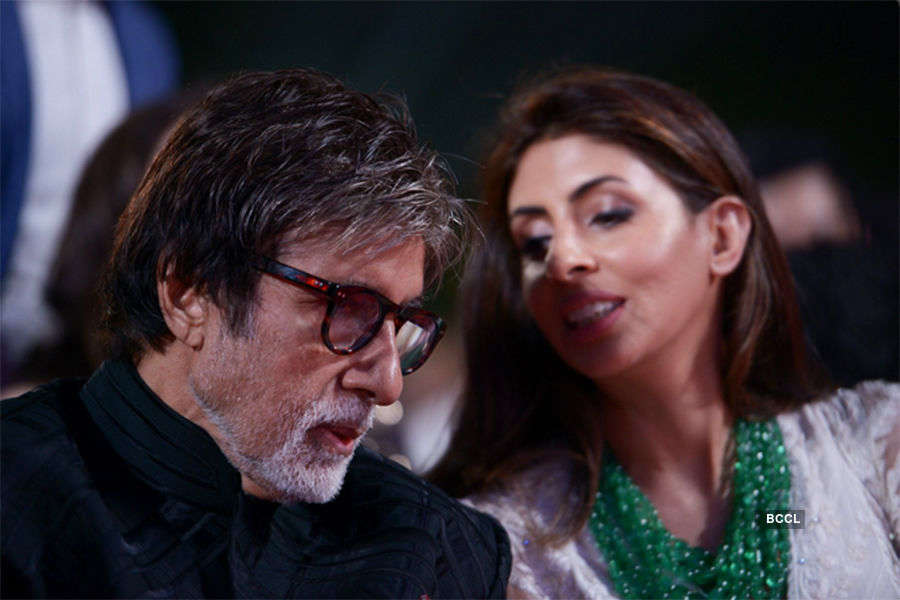 Big B floored by daughter's surprise
