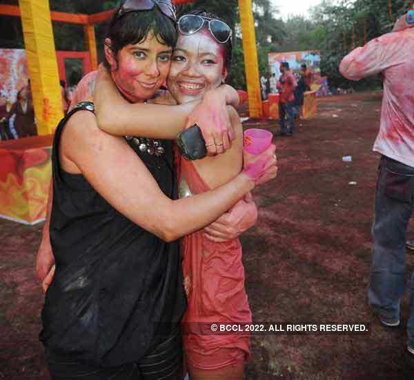 Vineet Jain's Holi Party '10 - 9