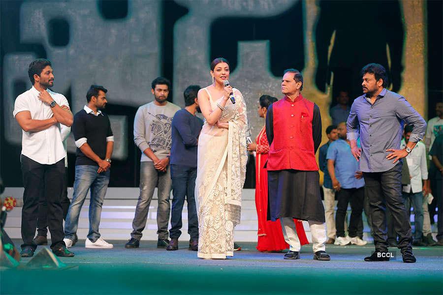 Kajal Aggarwal promotes Khaidi No 150