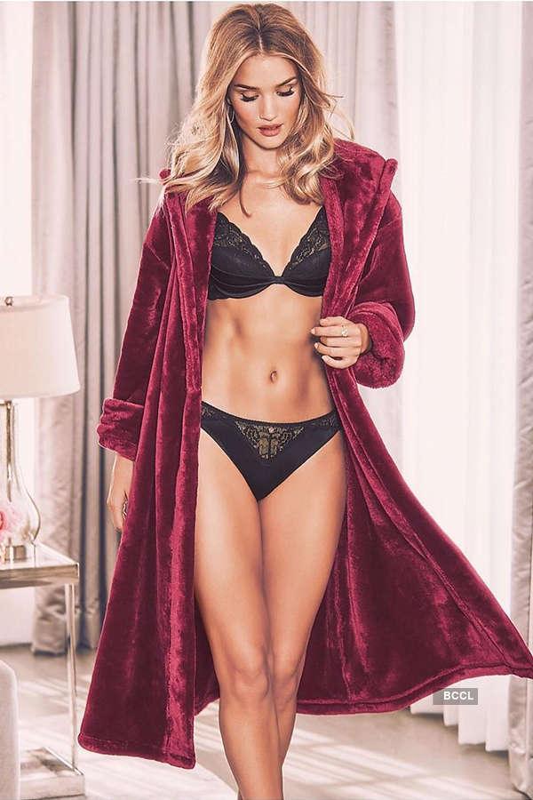 Lingerie model turned actress Rosie Huntington-Whiteley