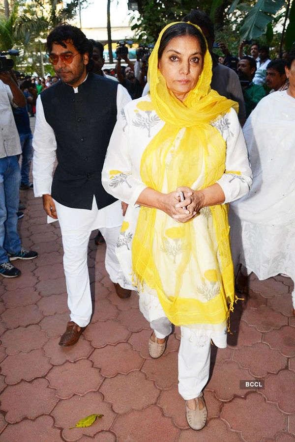 Om Puri's prayer meet