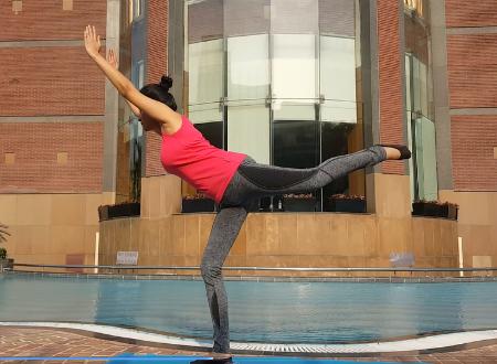 Brazilian butt lift squat with kick-back