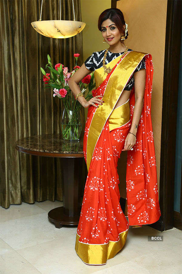 Shilpa Shetty dazzles in Bengaluru