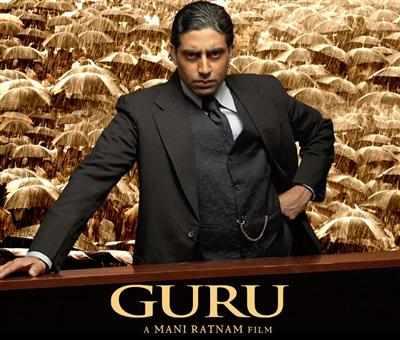 Abhishek Bachchan in and as 'Gurukant Desai'