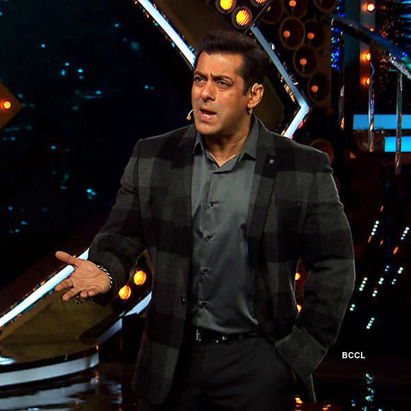 Salman Khan reacts to Swami Om's behaviour