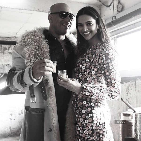 Deepika, Vin Diesel enjoy chai date!