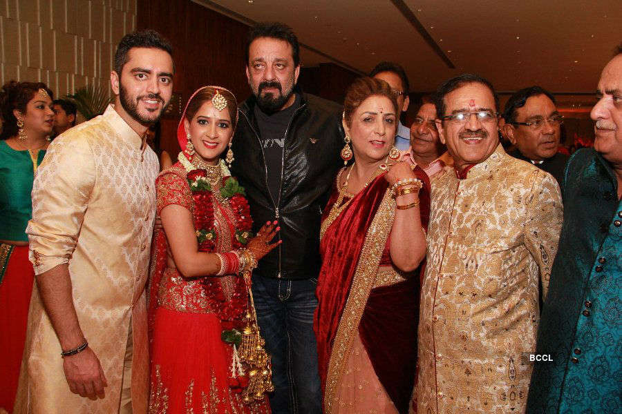 Sanjay Dutt @ Shivani Gulati's marriage ceremony