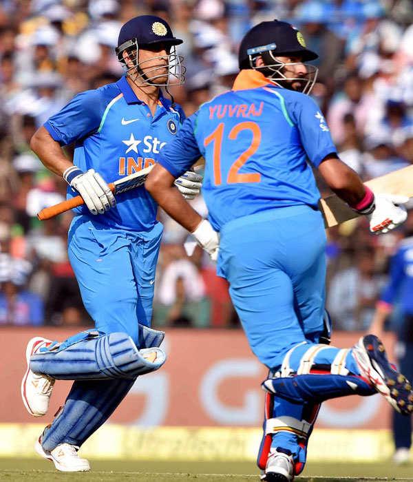 Yuvraj Singh is back with a bang