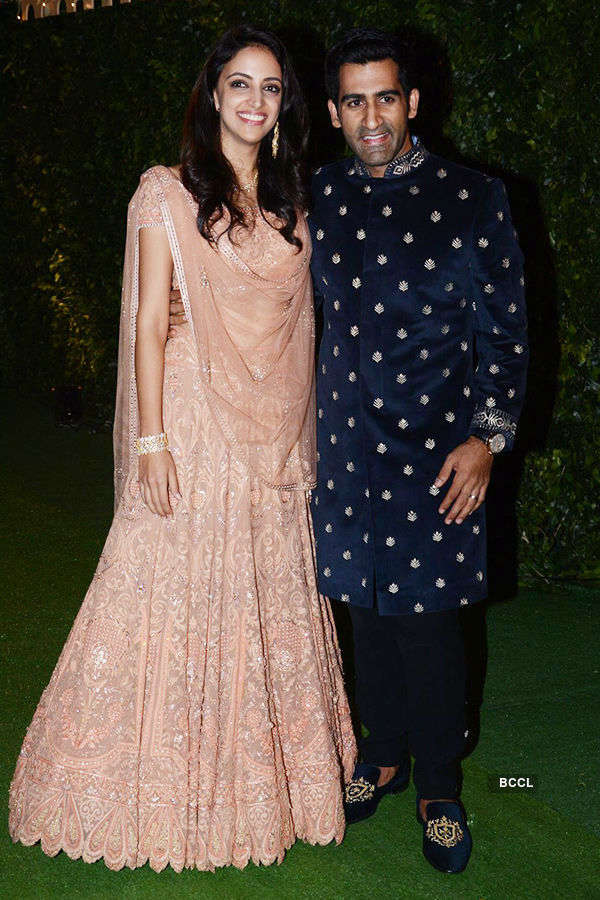 Trishya and Suhail's wedding reception - Part 1