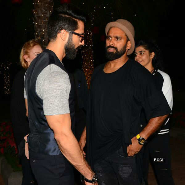 Shahid Kapoor snapped with Bosco