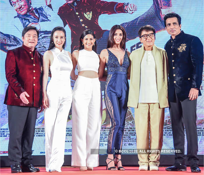 I want to do a Bollywood film: Jackie Chan