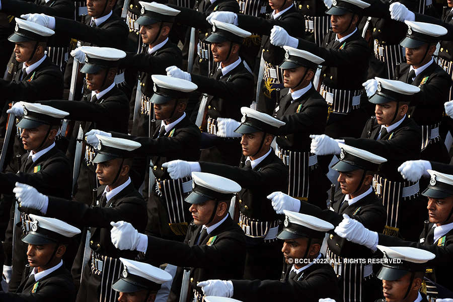 Full dress rehearsal of Republic Day parade