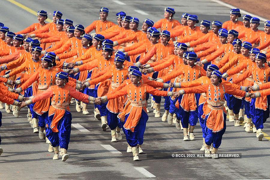 Full dress rehearsal of Republic Day parade