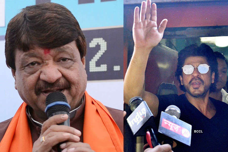 BJP leader assaults SRK, says crowds will come to see Dawood too