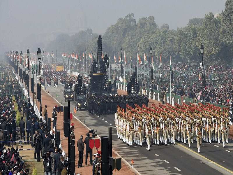 Republic day: 68th Republic Day celebrations: In a first