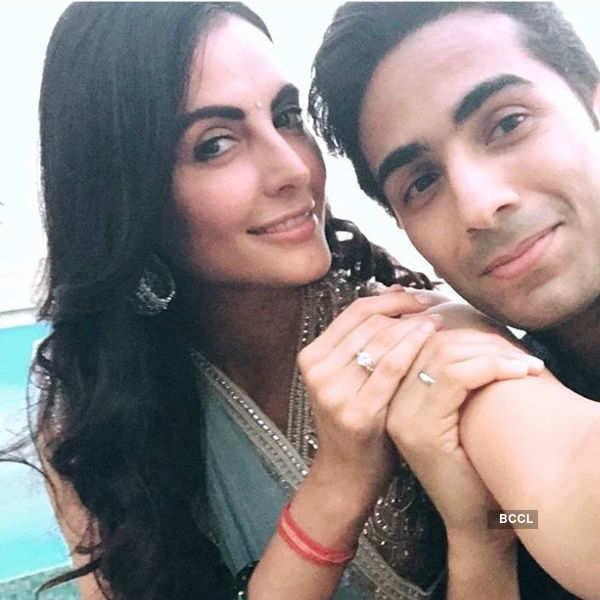 Mandana Karimi's secret wedding
