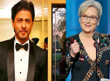 Shah Rukh says why Indian actors don't give speeches like Meryl Streep!