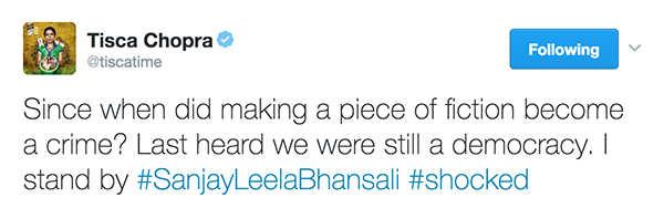 Bollywood stars standing tall for Sanjay Leela Bhansali