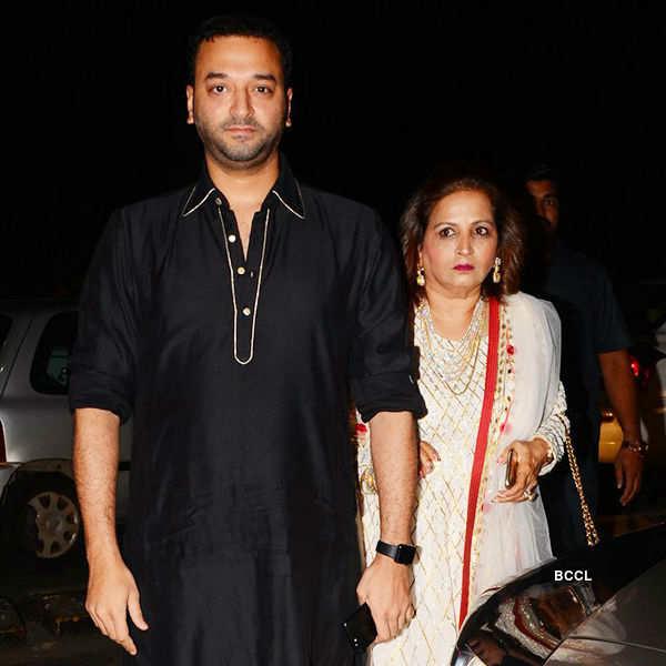 Celebs at Radha Kapoor's sangeet
