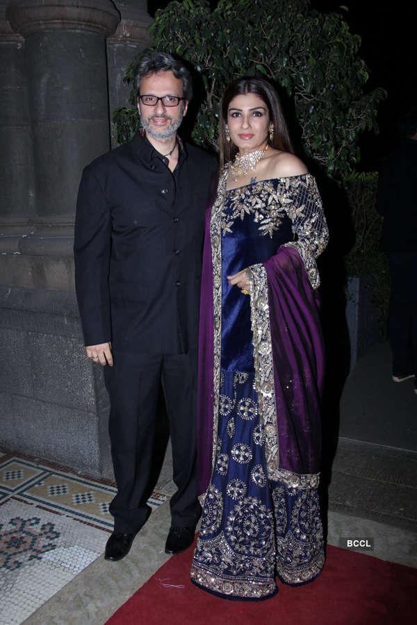 Celebs at Radha Kapoor's wedding reception