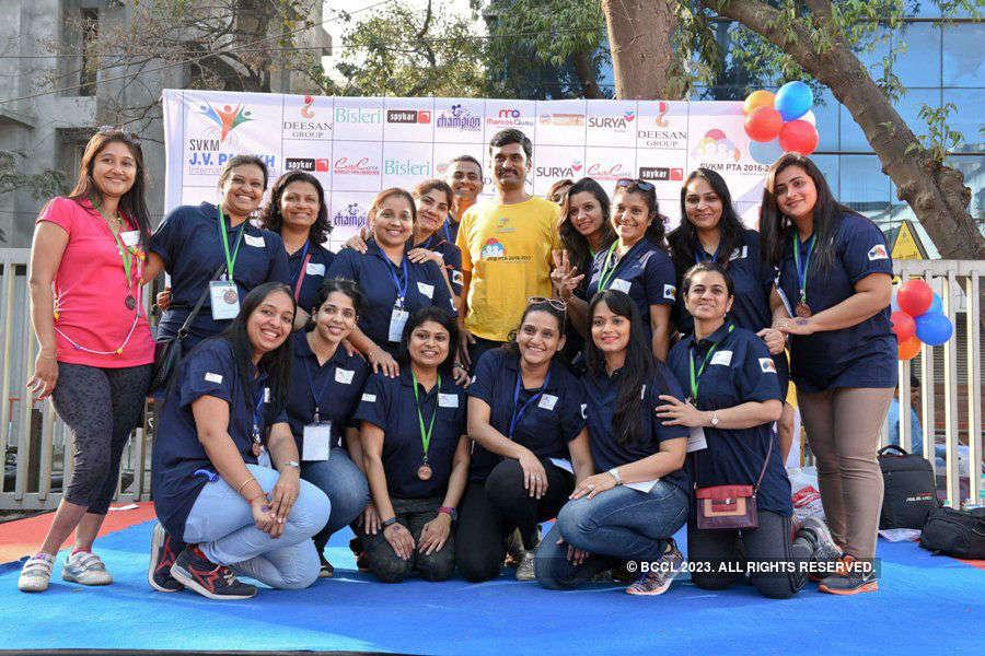 Marathon @ JV Parekh International School