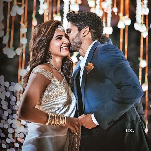 Samantha and Naga Chaitanya's engagement ceremony