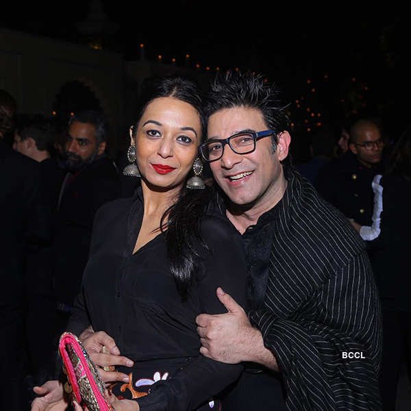 Vogue's Mario Testino party