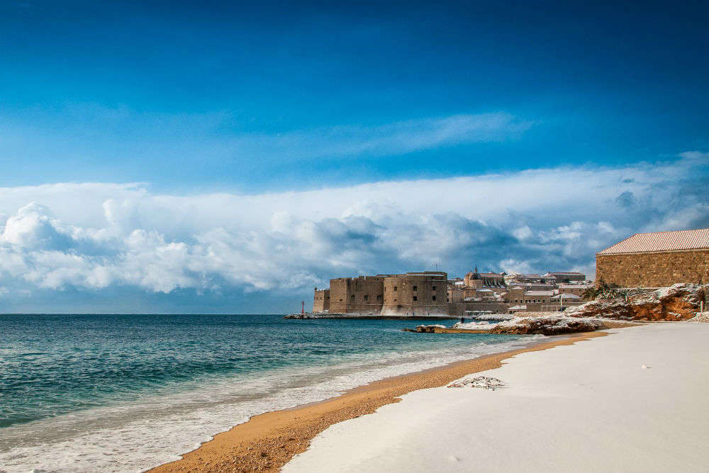 Visit Banje Beach