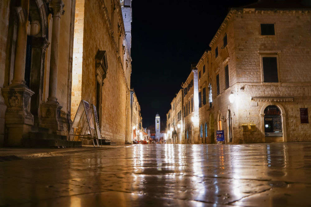 Take a walk on Stradun