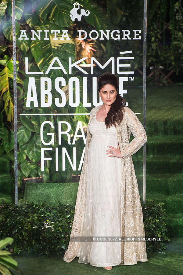 Anita Dongre puts on star-studded show at Lakme Fashion Week Grand Finale!